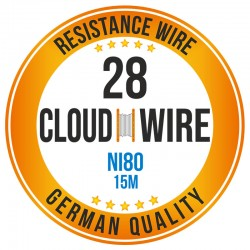 Cloud Wire 28ga NI80 (15M)
