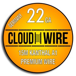 Cloud Wire 22ga Kanthal A1 (15m)