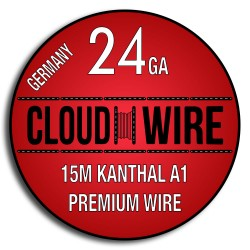 Cloud Wire 24ga Kanthal A1 (15m)