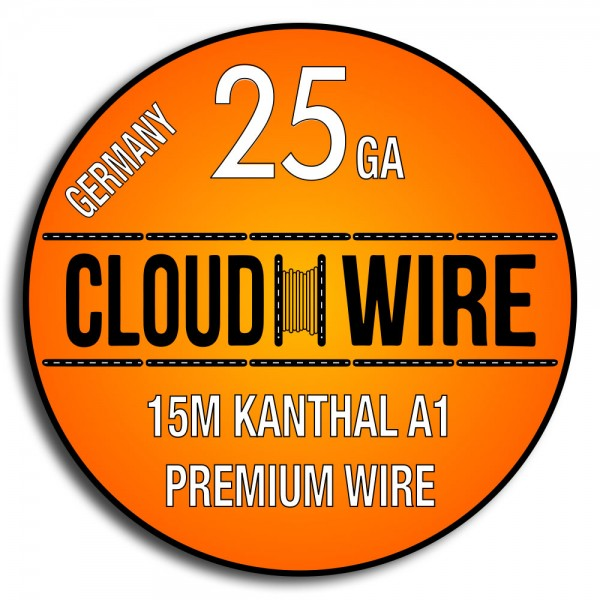 Cloud Wire 25ga Kanthal A1 (15m)