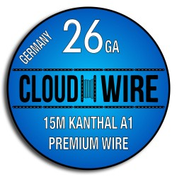 Cloud Wire 26ga Kanthal A1 (15m)