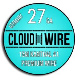 Cloud Wire 27ga Kanthal A1 (15m)