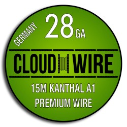 Cloud Wire 28ga Kanthal A1 (15m)