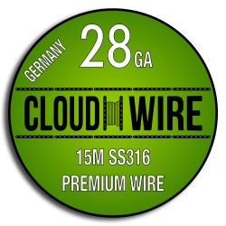 Cloud Wire 28ga SS316 (15m)